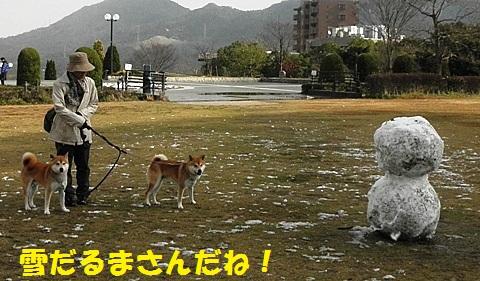 雪だるま-001