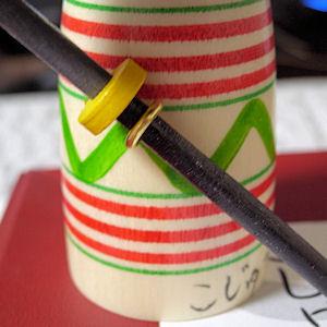 こけしの刀の部分