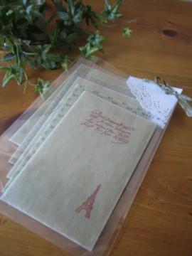 蝋引きポチ袋2