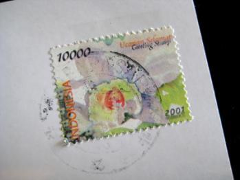 バリの切手