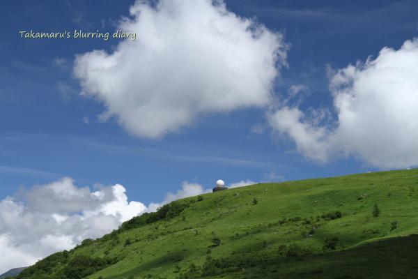 山頂から見渡す景色は、結構すごいらしい