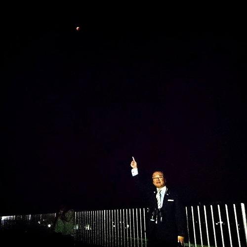 見事!田原中天文台から皆既月食 !!②