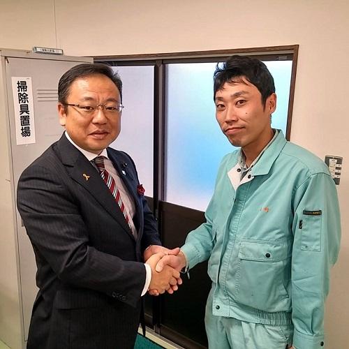 「UAゼンセン関東労組 日本サーファクタント工業支部」にて!