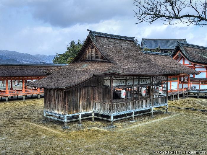 厳島神社摂社天神社本殿