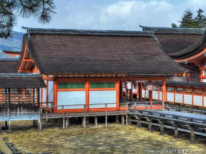 厳島神社摂社大国神社本殿