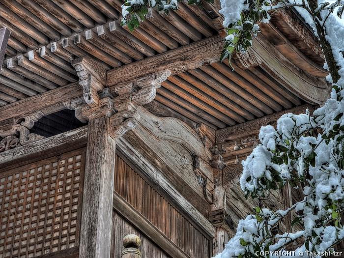 竜山八幡神社本殿