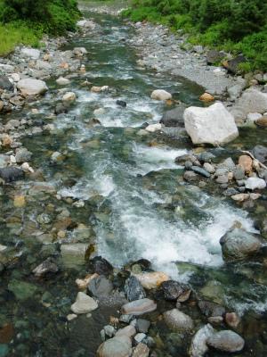 西頚の某河川