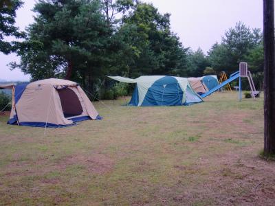 謎のテント群