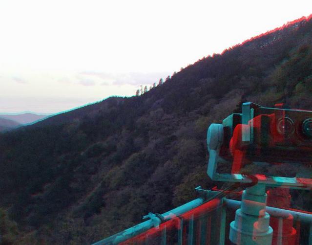 アナグリフ 望遠鏡