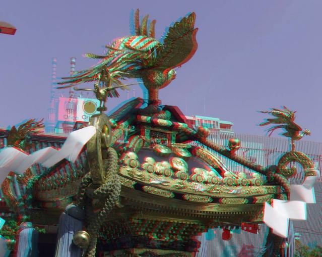 アナグリフ 神輿とツリー1