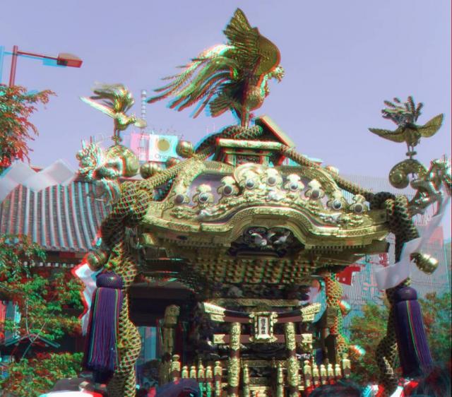 アナグリフ 神輿とツリー3