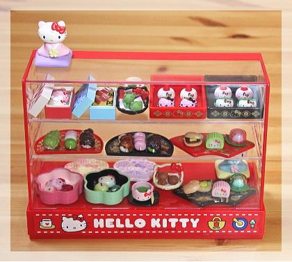 HELLO KITTY「はんなり和菓子屋さん」