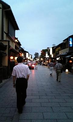 夕暮れの祇園