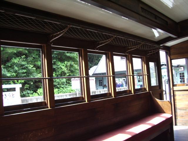 機関車の内部