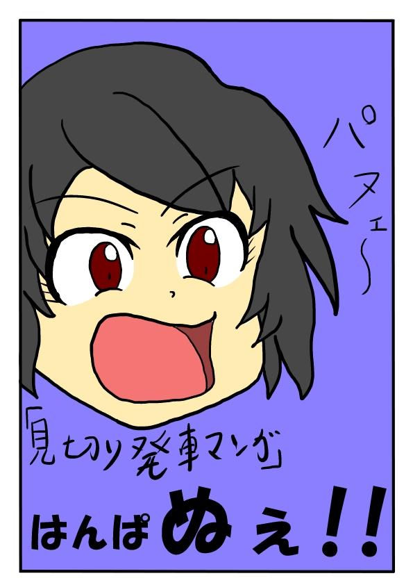 はんぱ ぬぇ!! 表紙