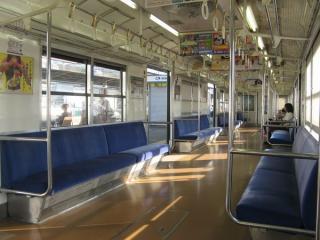 阪和線103系車内(N40工事施工)