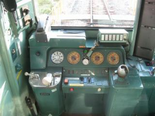 ワンマン対応化された羽衣線103系運転台