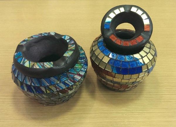 モザイク 灰皿 ボール ¥1600