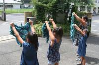 2012 8 21 藍染め 風呂敷バッグ作り 007_R