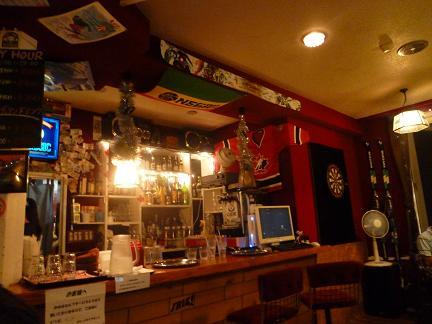 ロッジのバー&レストラン