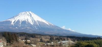 富士山 1月12日