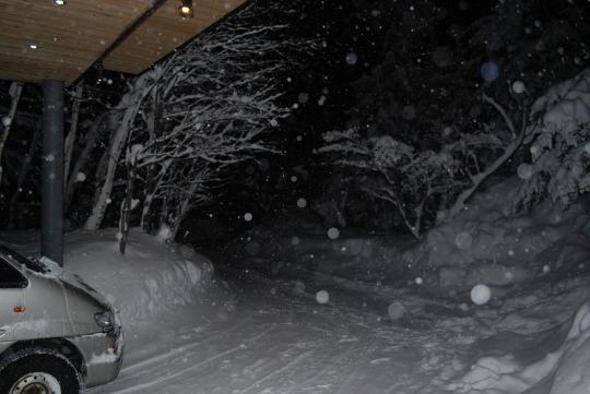 白馬 大雪