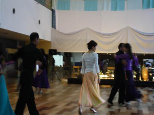社交ダンス 白馬