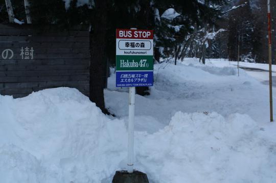 白馬五竜スキー場&白馬47シャトルバス時刻表