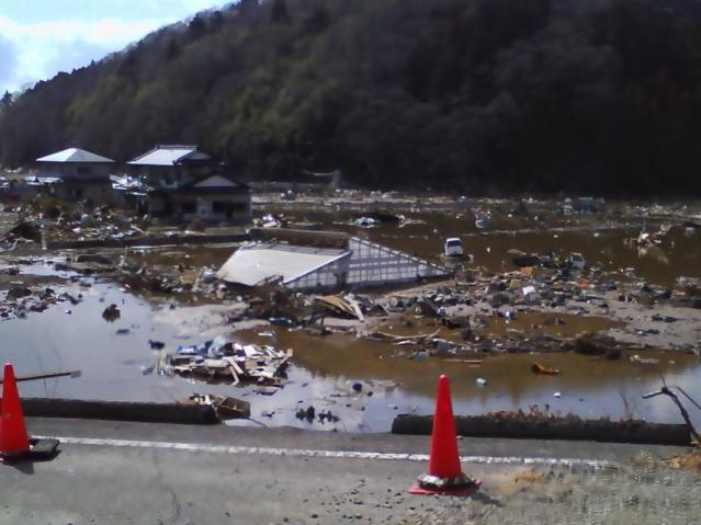 津波被災地2011.4.1