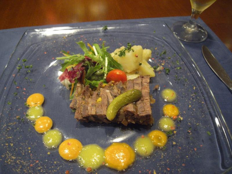 タパの谷町ブログ-牛肉のテリーヌ