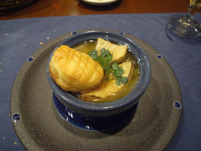 タパの谷町ブログ-フォアグラのスープ2
