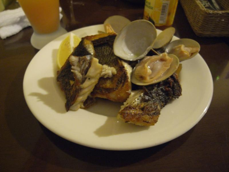 タパの谷町ブログ-今日の魚料理