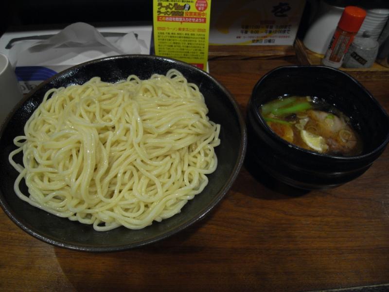 タパの谷町中心の生活-つけ麺