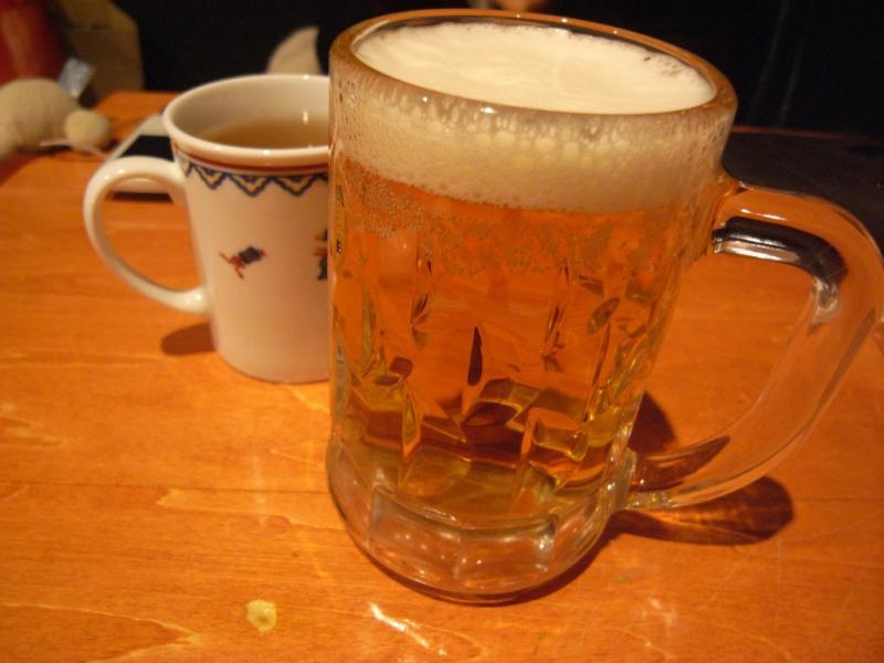タパの谷町中心の生活-ビール