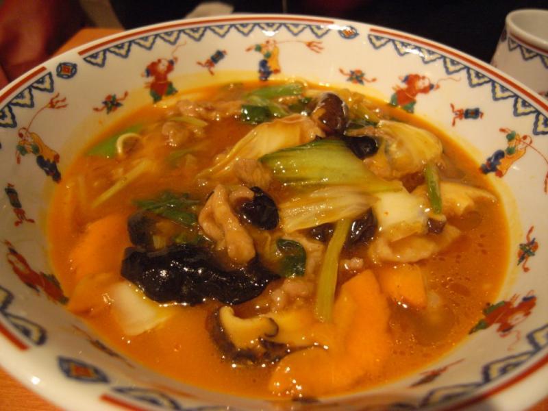タパの谷町中心の生活-サンラータン麺2
