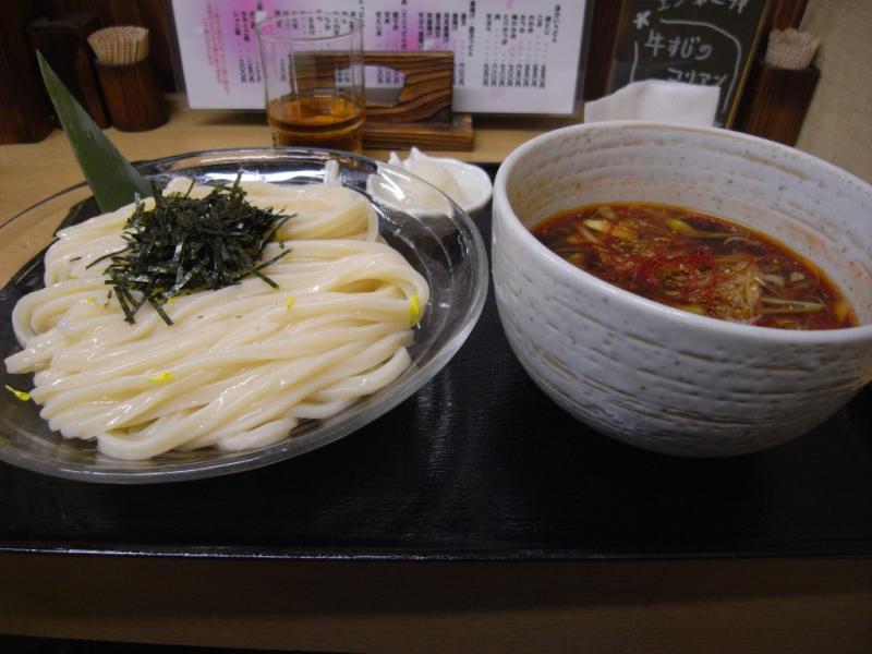タパの谷町中心の生活-ピリ辛コリアンつけ麺
