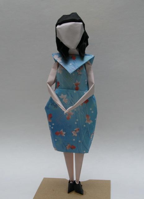 ハート 折り紙:折り紙 女の子 折り方-taroorigami.blog87.fc2.com