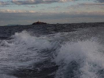 11月22日3本目帰り道の灯台