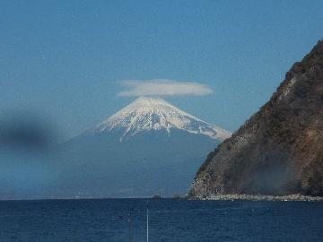 井田から見た富士山