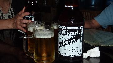 巨大なビール