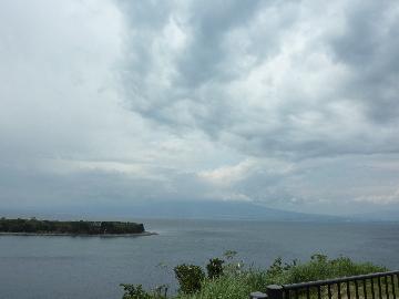 大瀬崎の海岸線
