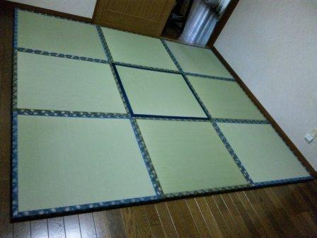フローリング畳