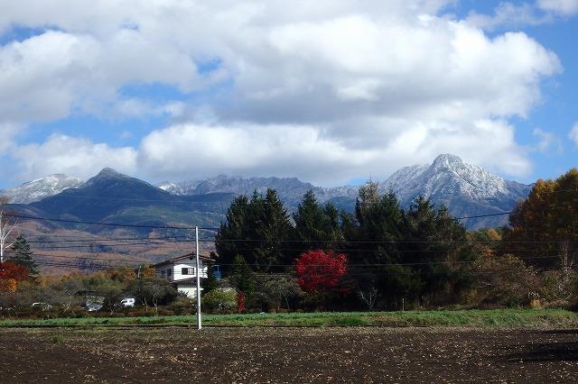 20141103八ヶ岳冠雪 (1)