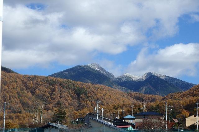 20141103天狗岳も冠雪 (1)
