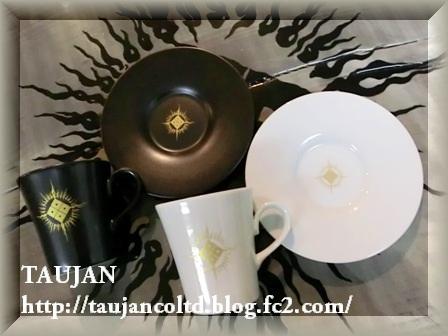 TAUJAN 限定 カップ&ソーサー白黒SET