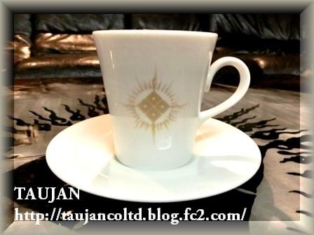 TAUJAN 限定 カップ&ソーサー白