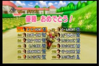 CC戦4試合目1GP