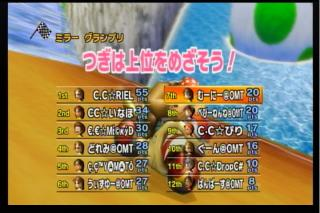 CC戦4試合目3GP