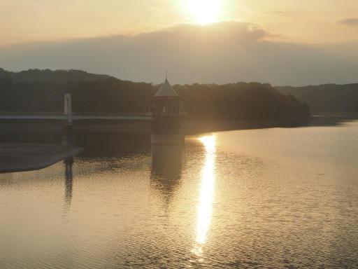 20141012・狭山湖夕焼け4