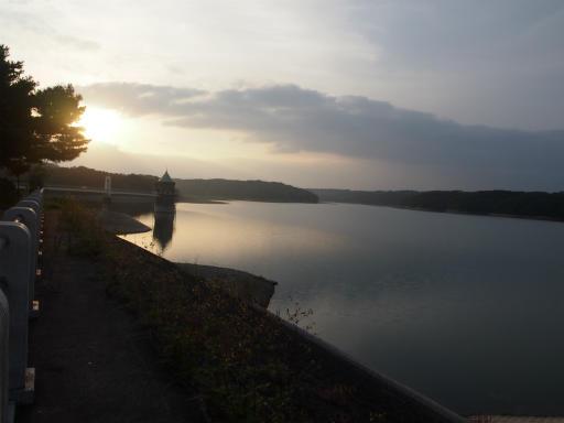 20141012・狭山湖夕焼け1